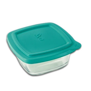 2LT SQUARE BOWL WITH LID