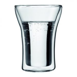 Assam Double Wall Glass, 0.25L 2pc set