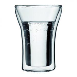 Assam Double Wall Glass, 0.25L 2pc set