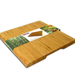 BAMBOO CUTTING BOARD 280X280X20MM