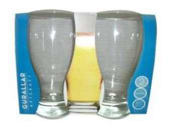 BEER GLASS 2 PACK