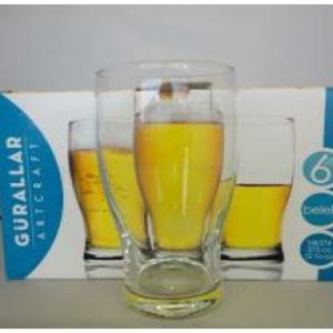 BELEK BEER GLASS 6 PACK