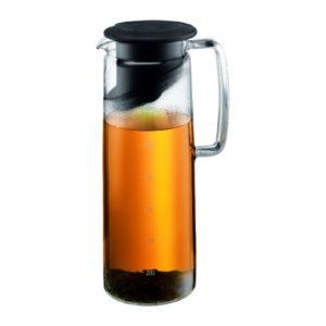 Biasca Ice Green Tea Jug 1.2L Black