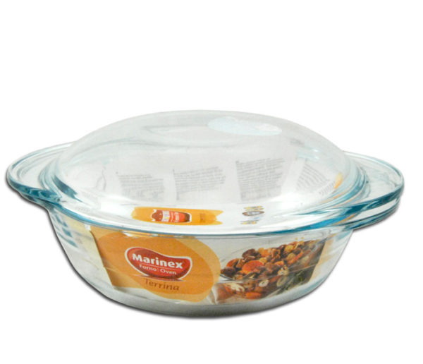 CASSEROLE ROUND 1.9LT WITH LID
