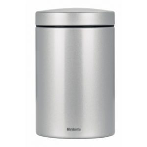 Canister - 1.4 litre - Brilliant Steel/Steel lid