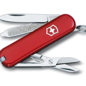 Classic pocket knife red