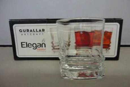 ELEGANT LIQUER GLASS 6 PACK