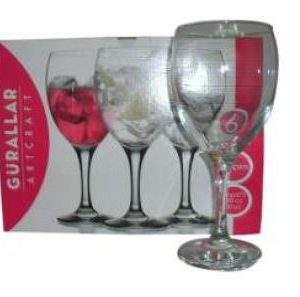 EMPIRE LARGE WINE GLASS 6 PACK