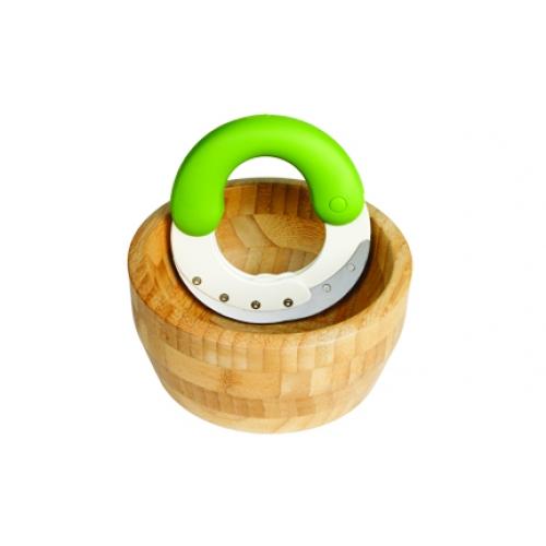 Herb'n Shear Set - Arugula/ Meringue (Bamboo Bowl)