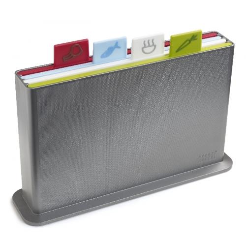 Index Advance Chopping Board Set (Silver)