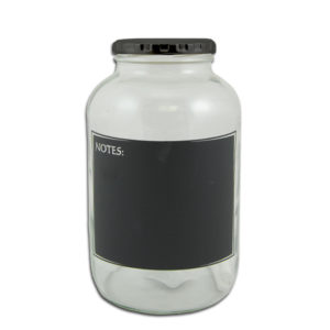 JAR WITH NOTES - 2.0LT