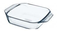 Pyrex Optimum Glass square Roaster High resistance Easy grip 29x23 cm