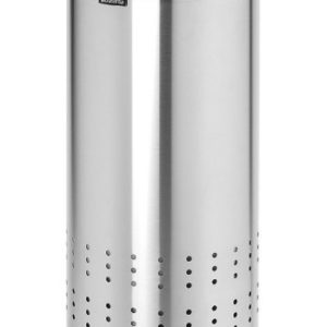 Brabantia Laundry Bin 30L - Matt Steel & Cool Grey