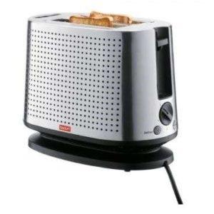 Bodum Bistro 2 Slice Stainless Steel Toaster