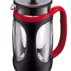Bodum Young Press 8 Cup Coffee Maker - Black & Red