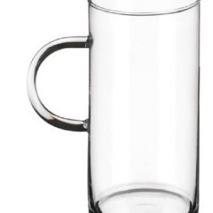 Simax Glassware Dorado Mugs, 10-Ounce, Set of 4