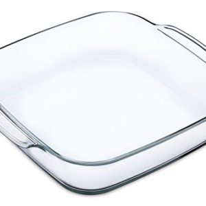 Simax Glassware 1.5-Quart Square Roaster Pan, Small