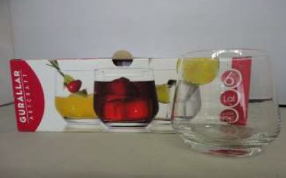 LAL WATER GLASS 6 PACK