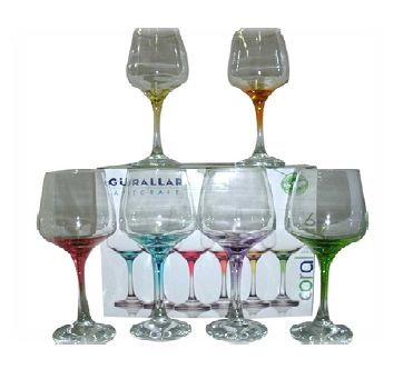 LAL WHITE WINE 6 PACK COLOURED