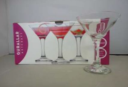 MISKET COCKTAIL GLASS SMALL 6PC
