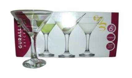 MISKET MARTINI GLASS 6pc