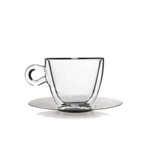 MULTI USE THERMIC CUP AND SAUCER 300ML 2 PC
