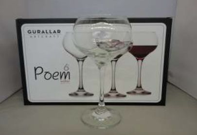 POEM WATER GLASS 6 PACK