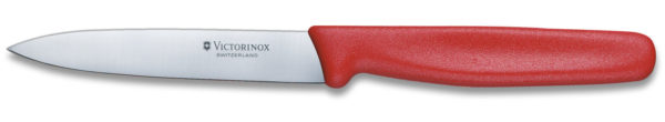 Paring Knife Red 10cm