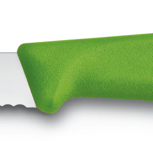 Paring Knife SwissClassic green serrated 8cm