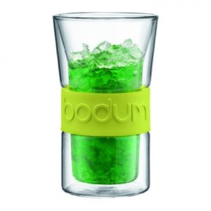 Presso Double Wall Glass 0.3L Green