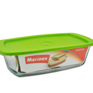 RECTANGULAR LOAF DISH WITH LID