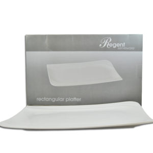 RECTANGULAR SERVING PLATTER  WHITE