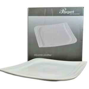 SQUARE SERVING PLATTER WHITE