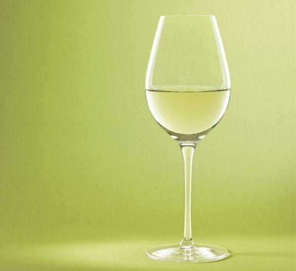 STEMWARE CRISP WHITE 2PC WINE GLASS