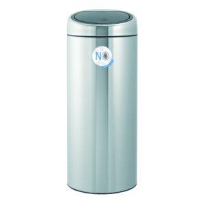 Touch Bin 30 litre - Matt Steel