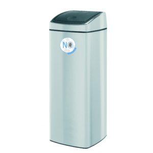 Touch Bin® - 25 litre - Rectangular - FPP Matt Steel