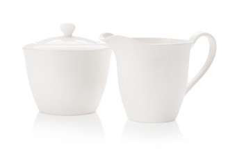 WHITE BASICS MOTION   Sugar & Creamer