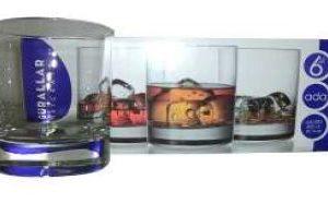 ADA WHISKY GLASS 6PC