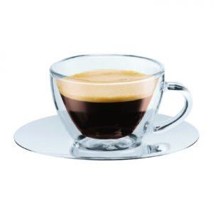(Piccolo) Veneziano Espresso Double Wall SS Saucer