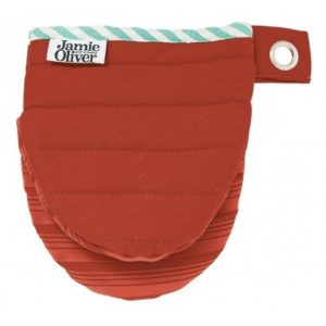 SILICONE MINI MITTS, RUSTIC RED