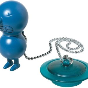 ALESSI BATH PLUG BLUE