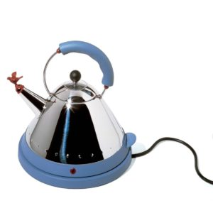 Alessi Graves Electric Kettle – Blue