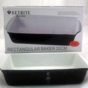 Black Rectangular Baking Dish - 33cm