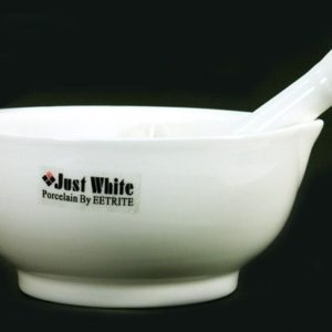 White Mortar & Pestle 13cm