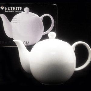 Eetrite White Teapot - 14cm