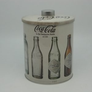 Coke Cookie Barrell Vintage Bottle