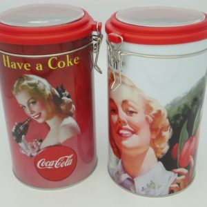 Coke Coffee Cannister Ladies New