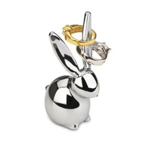 Umbra Zoola Bunny Ring Holder, Chrome