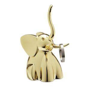 Umbra Zoola Elephant Ring Holder, Brass