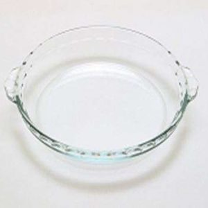 Pyrex Glass Bakeware Pie Dish with Handles - 1.3 Litre